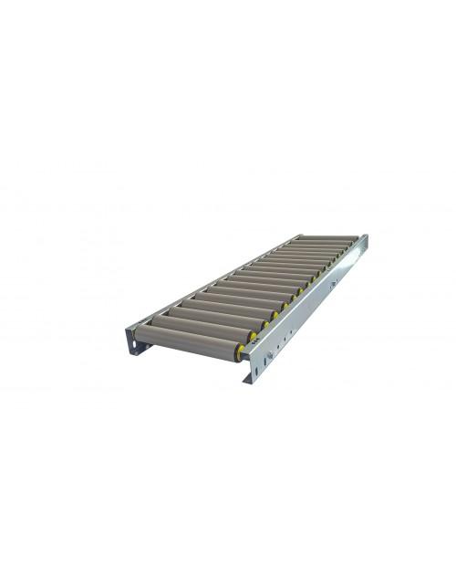 convoyeur gravitaire rouleaux PVC